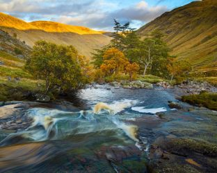 The Esk in Autumn by Greg-McKinnon