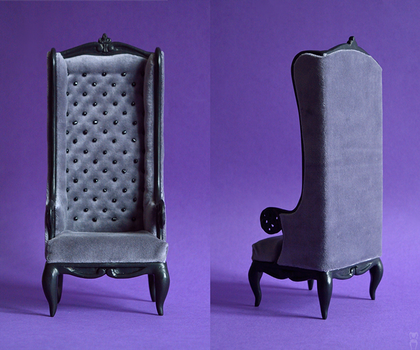 Grey Armchair by Katja-dollab