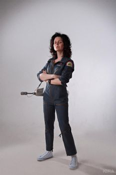 Alien - Ellen Ripley cosplay by ver1sa