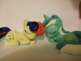 Lyra and Bonbon number two, for sale! by EarthenPony