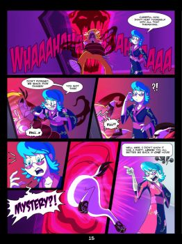 The Mystery Skulls Misadventures: 'Wounds' pg15 by Anastas-C