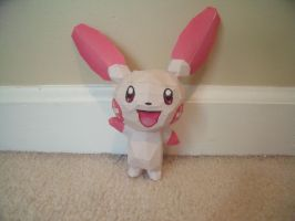 Papercraft Plusle by Drawingdude1098