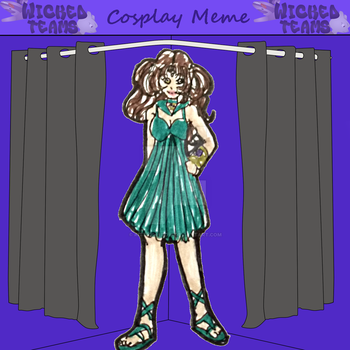 WT: cosplay Sailor Lethe by kittyshadow
