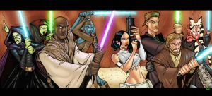 Tom Hodges's Jedi colored by TheBob74