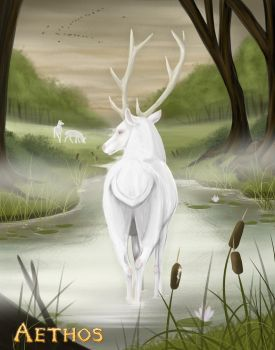 Aethos - The Stag by Kipadoodle