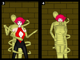 Cutie Honey mummy peril (3-4/7) by cgaegavga99