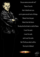 The Ninth Doctor - colour by The-13th-Doctor