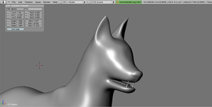 WIP Dog/Wolf Model by RakshaWw