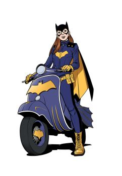 BatGIrl! by angryrooster