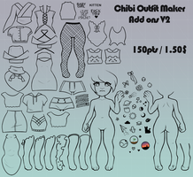 Chibi Outfit Maker 2 - Add On's V2 by er-ro
