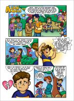 Child's Comic Valentines Day by Rallase