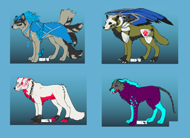 Wolf Adopts (Closed) Free! by Masky-Moo
