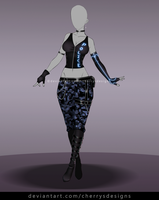 24H AUCTION - OUTFIT ADOPT 800 - OPEN by CherrysDesigns