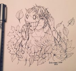 Inktober Mask by Inkswell