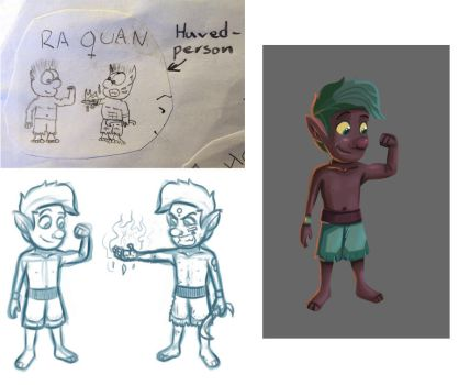 Re-drawing an old character 3 by reigneous
