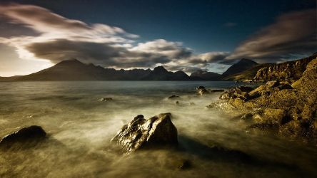 The Cuillins by Mohain