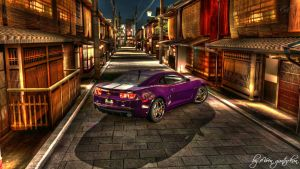 Purple Camaro HDR by evrengunturkun