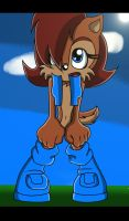 Sally Acorn Sonic X Screenshot by Ace-The-Artist