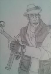 Team Fortress - Sniper by BlairTheresa