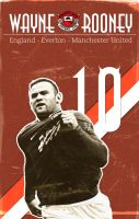Rooney 'Vintage Poster' by GoblinFish