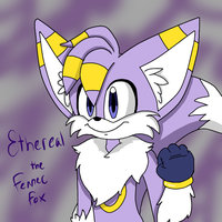 Ethereal The Fennec Fox (SONIC OC REDESIGN) by The-Capricious-Clown