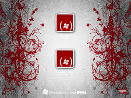 Windows and Dell gray login by Marfilgonca