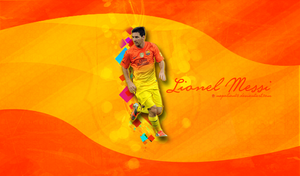 Lionel Messi Wallpaper by napolion06