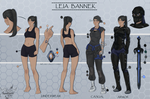 [Commission] SFW Ref Sheet for Bladeron by FrossetHjerte
