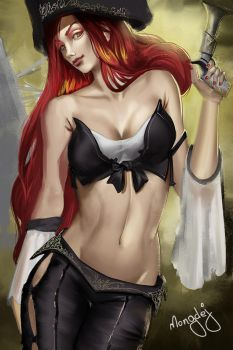 Miss Fortune by mongdej