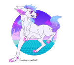 Vaporwave Doge [CLOSED] by Lobo-Adopts
