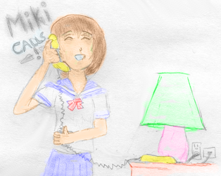 Miki Calls by colindc
