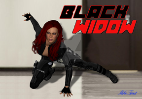 Black Widow by mtrout65