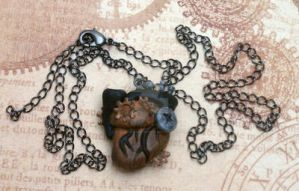 Steampunk Anatomical Heart by BizarreBazaarCharms