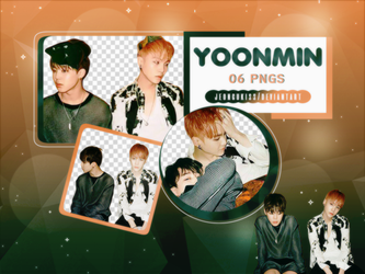 PNG Pack|Yoonmin (BTS) by jeongukiss