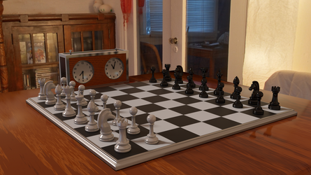 Chess Board by newdeal666
