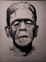 Classic Frankenstein by wimpified
