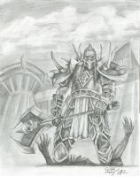 High Overlord Saurfang by jaziks