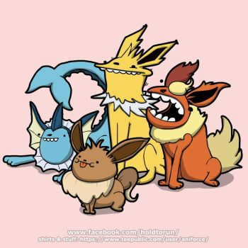 The one with all the evolutions by Aniforce