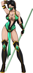 Commission: Jade II by R-Legend