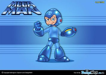 Mega Man by Npr1977