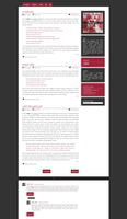 Blogspot template Ultonosc by stupid-owl