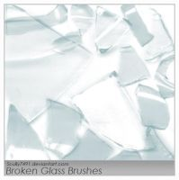 Broken Glass Brushes by Scully7491