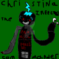 Christine the infected commander, full body by the-true-emptyness12