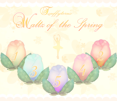 Waltz of the Spring 2018 by TakyHime