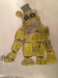 WIthered Original Golden Freddy by Fazscare87
