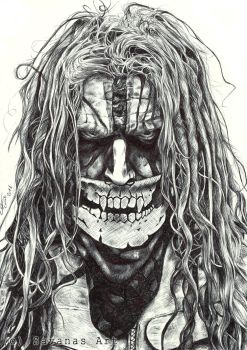 Rob Zombie by SavanasArt