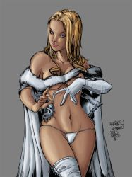 Emma Frost color by Digraven