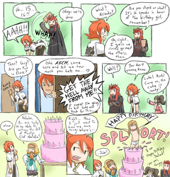 Happy Abyss Birthday Salad by GreenMage
