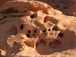 00189 - Rock Formation with Holes by emstock