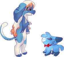 WP49: You are blue aswell! by WhatTheFwoof